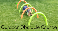 Outdoor Obstacle Course - Pre-K Pages