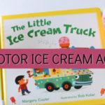 fine motor ice cream activity