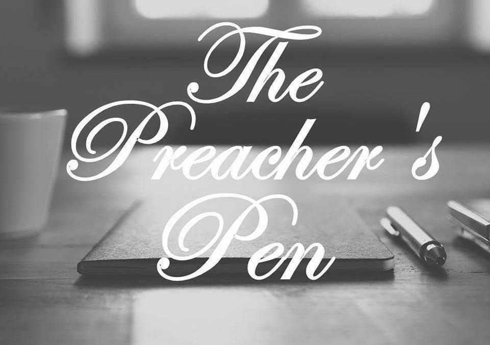 A B&W Photo Challenge – Day #4 – The Preacher's Pen