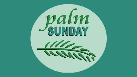 Visual of a Palm Leaf indicating that the article is based around Palm Sunday.