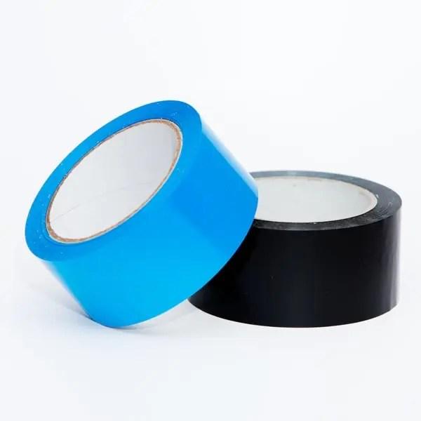 Cinta de color azul y de color negro