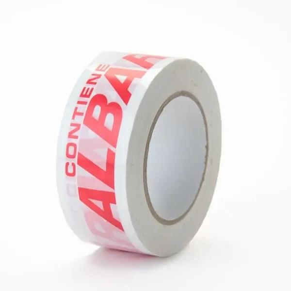 cinta contiene albaran