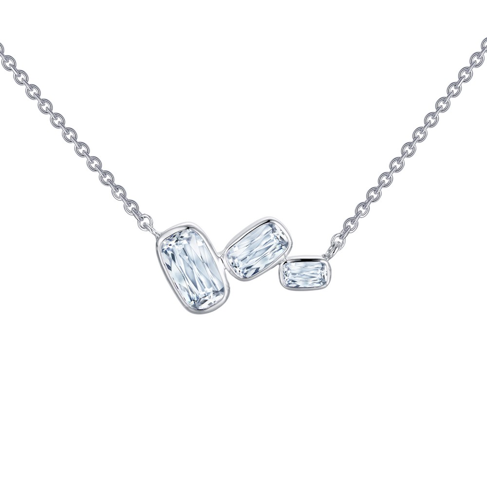 Lafonn Monte Carlo Platinum-Plated Simulated Diamond