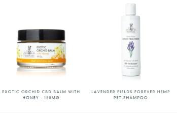 cbd shampoo and balm