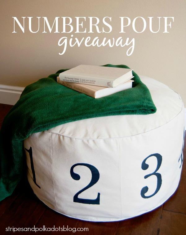 Numbers Pouf4