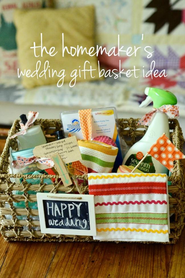 The Homemaker's Wedding Gift Basket