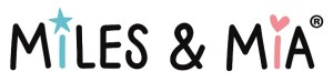 The Miles and Mia Book logo