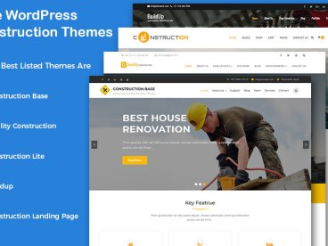 Free WordPress Construction Company Themes