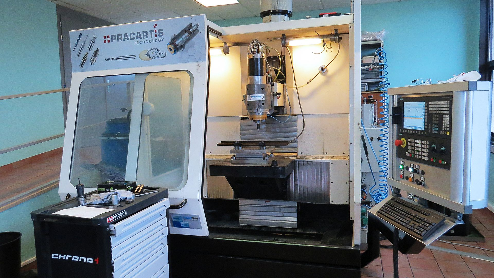 Precise France - Centre Essais Pracartis Groupe