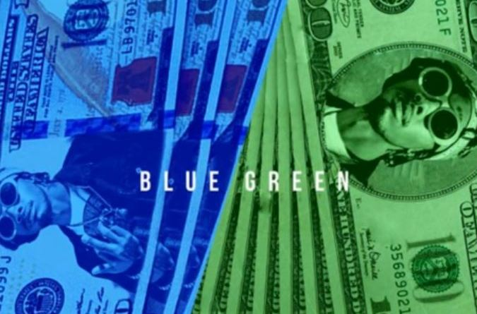 diego money, blue & green,