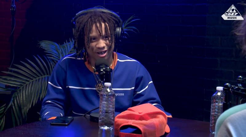 Trippie redd on ham radio interview preciseearz for Mf doom tattoo