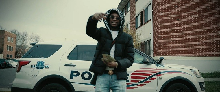 "Cruddy Murda Flashes His Moncler Jacket In ""CRUDDY SH*T"""