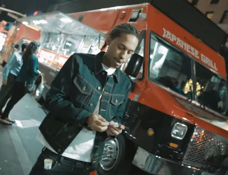"Chavo Chills By A Hibachi Food Truck In ""MICHIGAN"" Video"