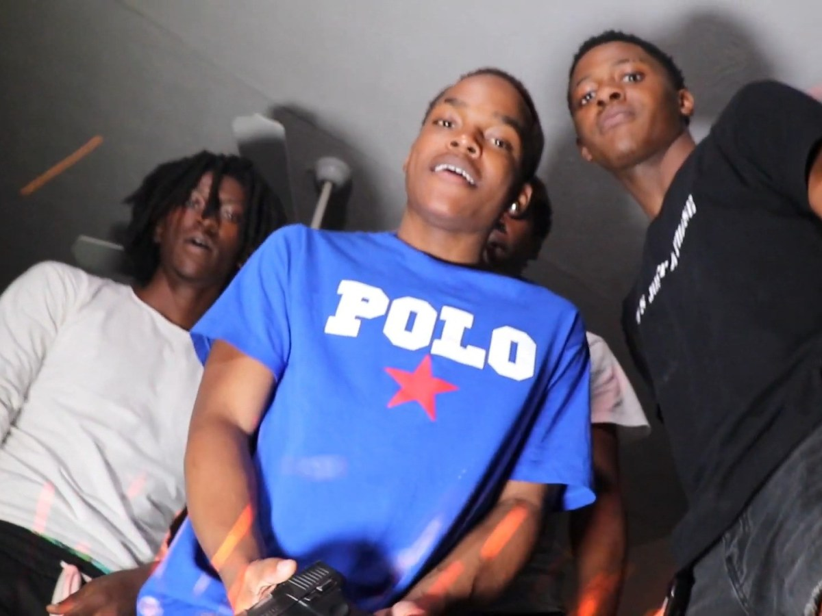 """G Baby Goes Glock Crazy With Heemthegreatest In """"Molly"""""""