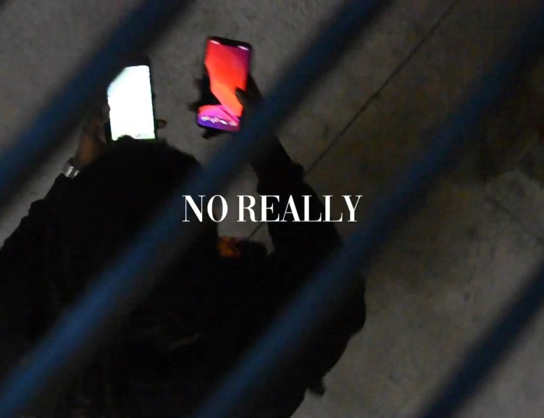 """95Reddo Jugs On Two Cell Phones In """"No Really"""""""