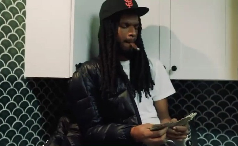 """D Guapo Does A 10k Money Dance In """"Options"""" Freestyle"""