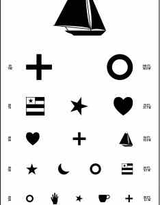 Kindergarten eye test chart also precision vision rh
