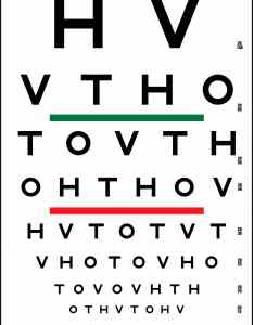 Hotv visual acuity color vision chart also precision rh