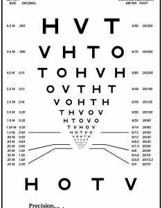 Massvat hotv logarithmic visual acuity chart also precision vision rh