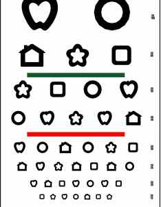 also line patti pics color test visual acuity chart precision vision rh