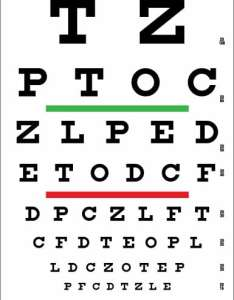 Snellen eye chart for visual acuity and color vision test also rh precision