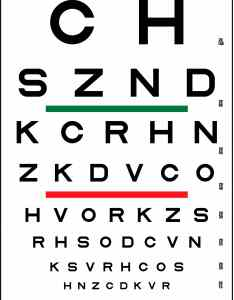 Contrast eye charts   bc feb     xl also sloan striped visual acuity chart precision vision rh