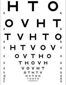 Hotv visual acuity chart ft also precision vision rh