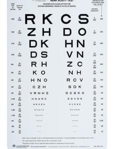 Lighthouse near visual acuity test st edition lh also  rh precision vision