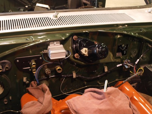 small resolution of 1969 plymouth roadrunner installing the firewall wiring