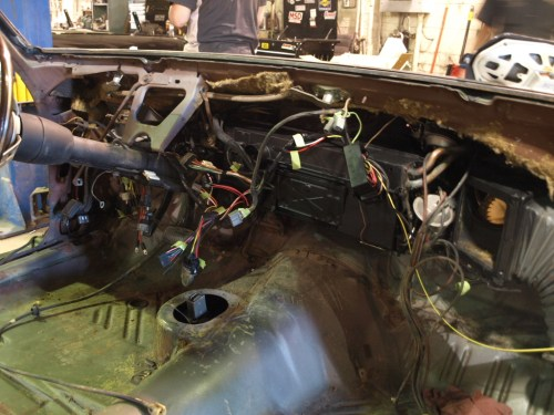 small resolution of 1969 plymouth roadrunner installing the dash wiring