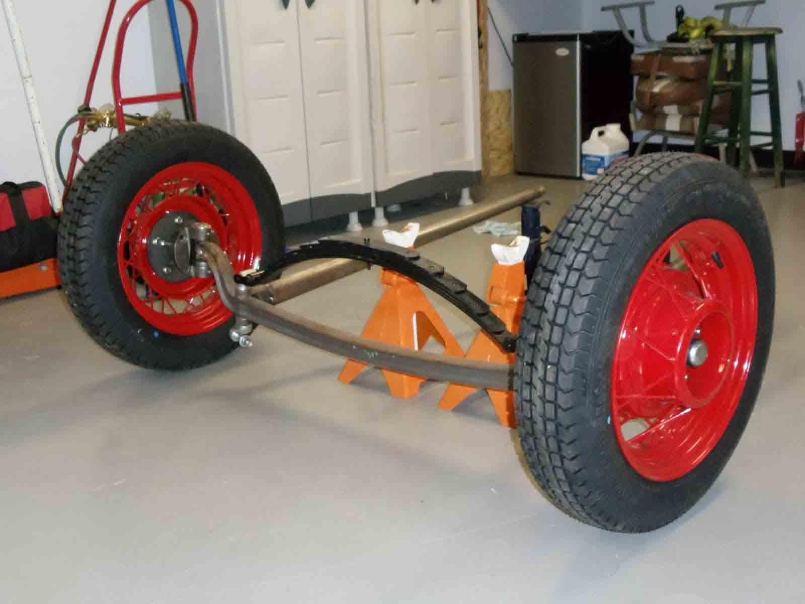 hight resolution of simple early ford straight axle