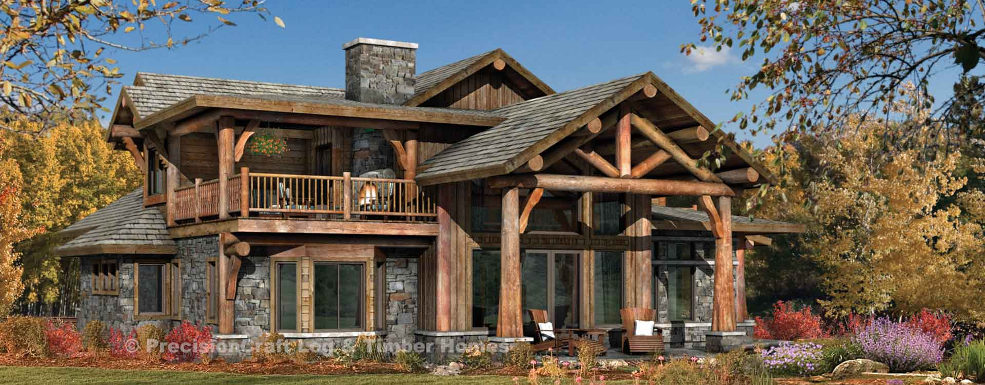 Best Kitchen Gallery: Timber Frame And Log Home Floor Plans By Precisioncraft of Log Home Floor Plans And Designs  on rachelxblog.com