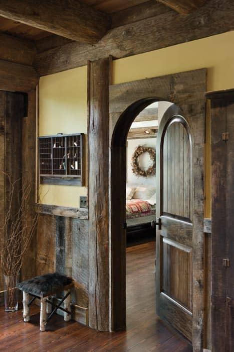 Blue Ridge Georgia Log Home Cabin  by PrecisionCraft