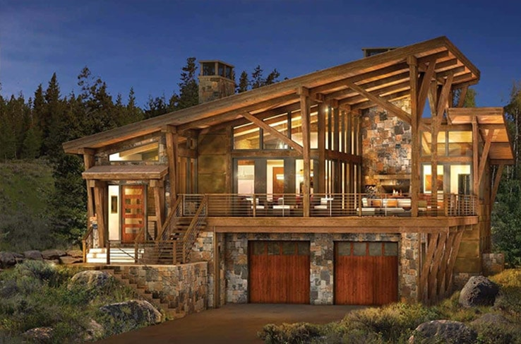 Modern Log And Timber Frame Homes And Plans By PrecisionCraft