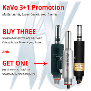 KaVo Slowspeed 3+1 Promotion