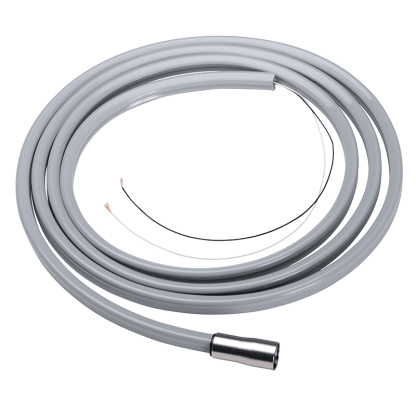 DCI ISO-C 6 Pin Power Optic Dental Handpiece Tubing 7' Sterling Straight