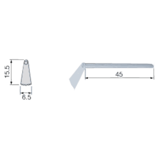 Discontinued - NSK SGO-4 Surgical Blade