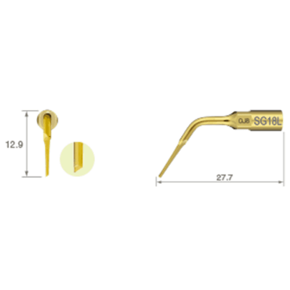 NSK VarioSurg Piezo Surgical Extraction Tip 18L