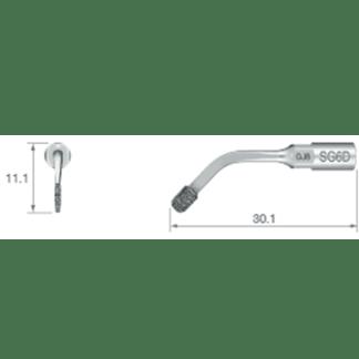 NSK VarioSurg Piezo Surgical Sinus Lift Tip SG6D
