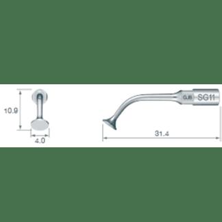 NSK VarioSurg Piezo Surgical Sinus Membrane Tip SG11