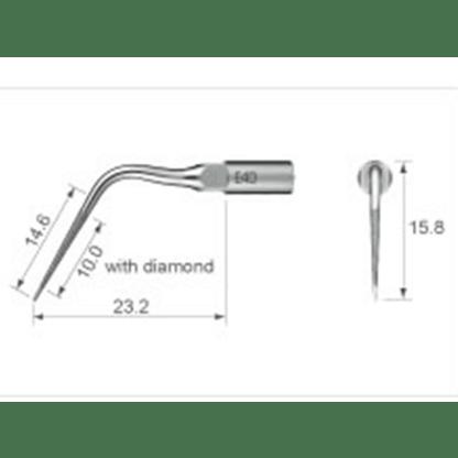 NSK Varios Ultrasonic Scaler Endo Tip E4D