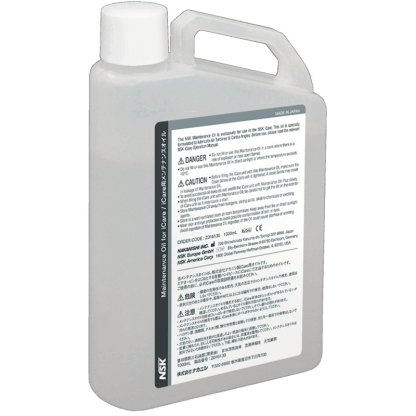 NSK iCare Maintenance Oil for maintenance of handpieces