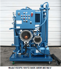 Vacuum-Assisted Oil Purification System | Precision Filtration Products