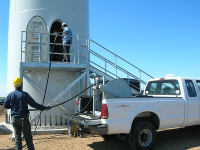 Wind Turbine Tower Entrance | Precision Filtration Products