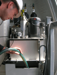 Adding new filtered turbine oil | Precision Filtration Products
