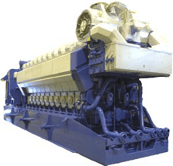 Wartsila Natural Gas Engine at Power Plant | Precision Filtration Products