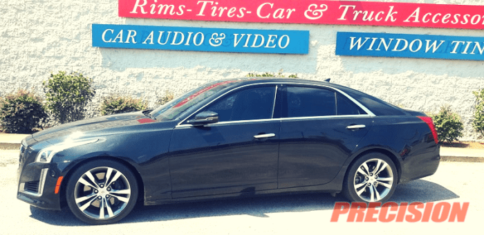 2016 Cadillac CTS CTX Window Tint