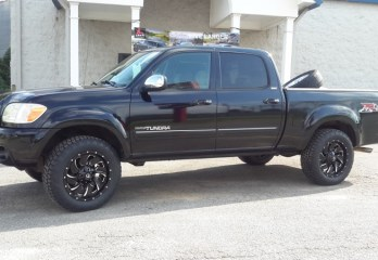 Black Toyota Tundra Fuel Wheels Nitto Tires-0