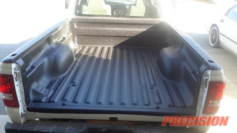 ford ranger linex sprayin bedliner