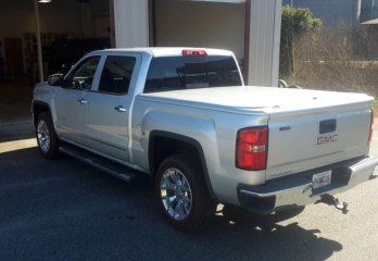 Repeat Iron City Client Comes to Precision Audio for GMC Sierra Tonneau Cover
